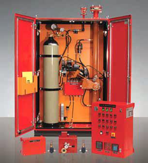 سیستم اطفای حریق و پیشگیری از انفجار ترانسفورماتورهای برق