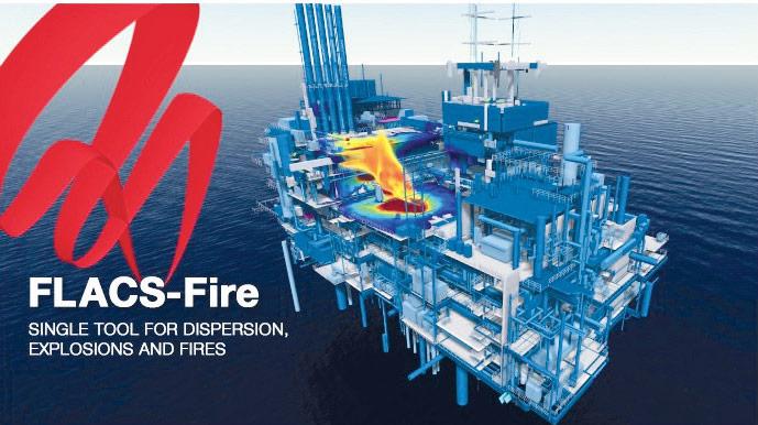 FLACS-Fire نرم افزار جدید مدلسازی حریق و انفجار GexCon